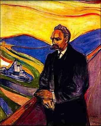 Nietzsche by Edvard Munch (1906)