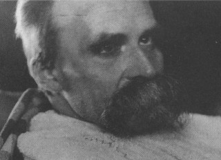 The Ill Nietzsche by Hans Olde (1899)